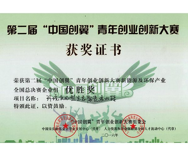 """第二届""""中国创翼""""青年创业创新大赛2"""