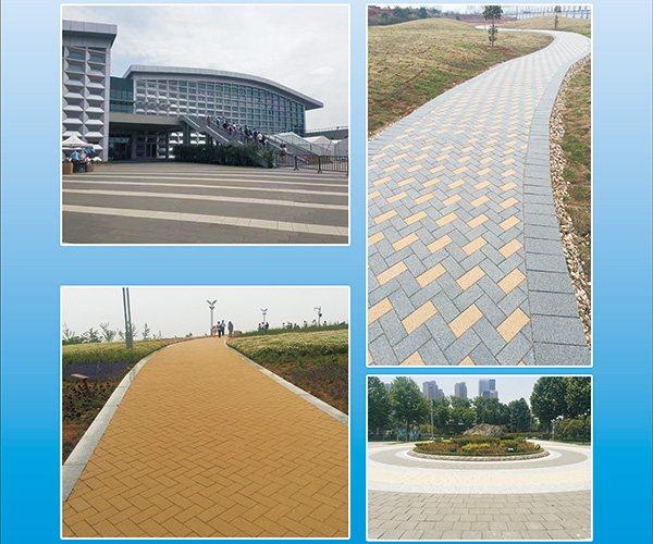陶瓷透水砖工程案例